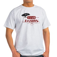 Vampire Diaries Team Damon red Light T-Shirt
