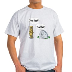 You Rock You Rule Light T-Shirt