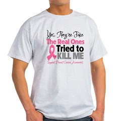 Breast Cancer Fake Light T-Shirt