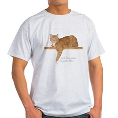 Orange Cat Ginger Kitty Light T-Shirt