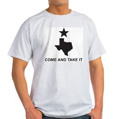Come and Take It Slogan Light T-Shirt