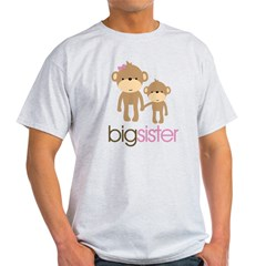 Monkey Big Sister Light T-Shirt