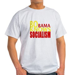 Barack Obama Knows Socialism Light T-Shirt