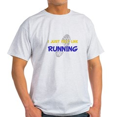 I Felt Like Running Light T-Shirt