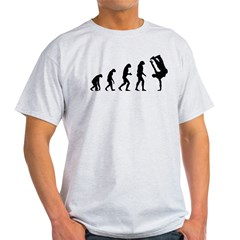 Evolution bboy Light T-Shirt