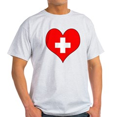 Switzerland Hear Light T-Shirt