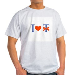 I Love T-Bow - Light T-Shirt