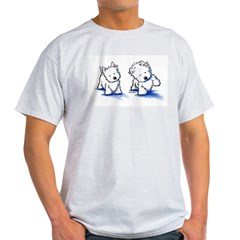 Shadowboxing Westies Light T-Shirt