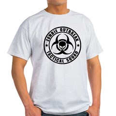 Zombie Outbreak Technical Squad Light T-Shirt