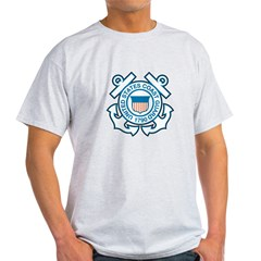 Coast Guard Men''s Light T-Shirt
