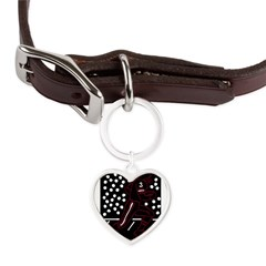 32197306crimson.png Large Heart Pet Tag