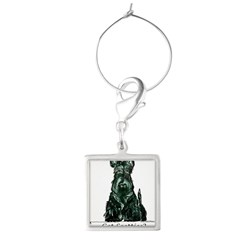 got scotties trans 10x10.png Square Wine Charm