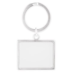 Norway (Flag, International) Landscape Keychain