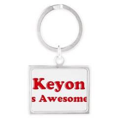 Keyon is Awesome Landscape Keychain