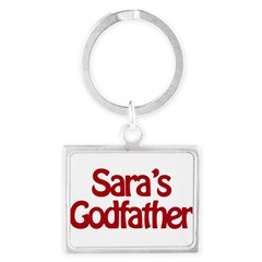 Sara's Godfather Landscape Keychain