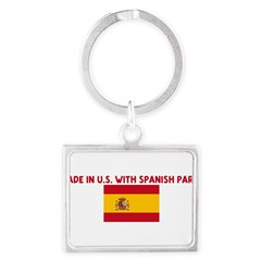 MADE IN US WITH SPANISH PARTS Landscape Keychain
