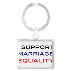 marriage Landscape Keychain