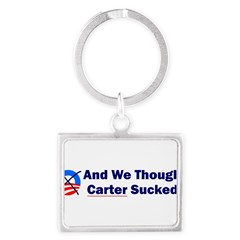 Anti-Obama Landscape Keychain