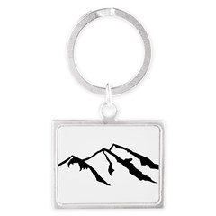 Mountains Landscape Keychain