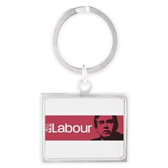 Gordon Brown Labour Party Landscape Keychain