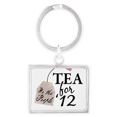 Vote Tea Party 2012 Landscape Keychain