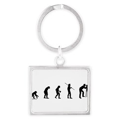 Photog Evolution Landscape Keychain