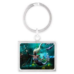 Best Seller Merrow Mermaid Landscape Keychain