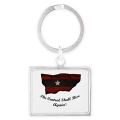 the Central Shall Rise Again Landscape Keychain