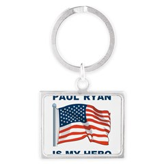Paul Ryan is my Hero! Landscape Keychain