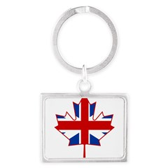 UK Maple Landscape Keychain
