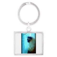 DollyCat Atmosphere - Ragdoll Cat - Landscape Keychain