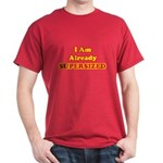 Already Supersized Cardinal Red T-Shirt