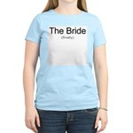 Finally the Bride Women's Light T-Shirt