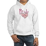 Bride in Love Hooded Sweatshirt