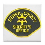 Sierra County Sheriff Tile Coaster
