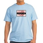 Pink Toile World's Best Mother Mom Light T-Shirt