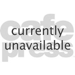 Purple Cartoon Flower Spring Teddy Bear