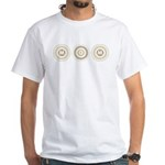 Cool Mod Mom Dots Mother's Day White T-Shirt