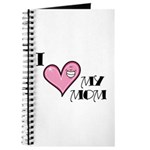 I Love Heart My Mom Mother's Day Journal
