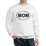 Mom European Oval Mother's Day Sweatshirt