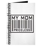 My Mom Priceless Barcode Journal