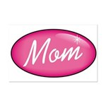 Pink Mom is my Idol Logo Mini Poster Print