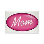 Pink Mom is my Idol Logo Rectangle Magnet (100 pac