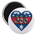 "Heart Wonder Mom Mother's 2.25"" Magnet (10 pack)"