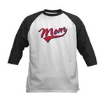 Baseball Style Swoosh Mom Kids Baseball Jersey