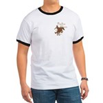 Rodeo Mom Wester Cowboy Cowgirl Ringer T