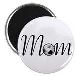 Pretty Soccer Mom Mother's Day Magnet
