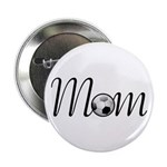Pretty Soccer Mom Mother's Day Button