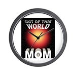 Out of this World Sci-Fi Mom Wall Clock