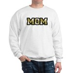Golden Mom Name Gold Letters Sweatshirt